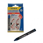 LYRA Markeerkrijt blauw       37-102 B